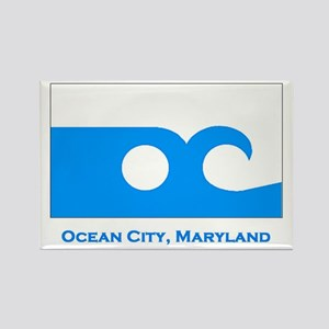 Ocean City MD Flag Rectangle Magnet
