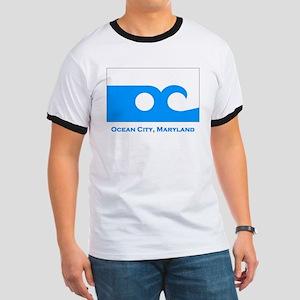 Ocean City MD Flag Ringer T