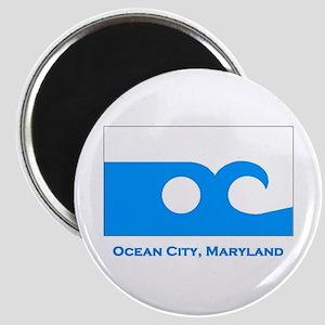 Ocean City MD Flag Magnet