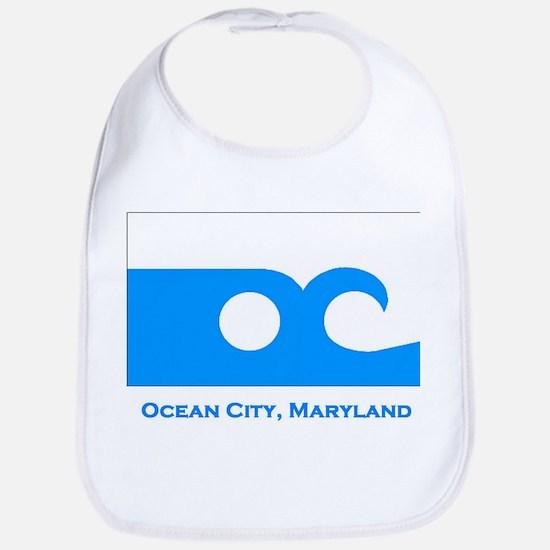Ocean City MD Flag Bib