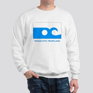 Ocean City MD Flag Sweatshirt