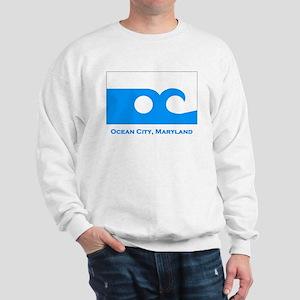 Ocean City MD Flag Sweatshirt