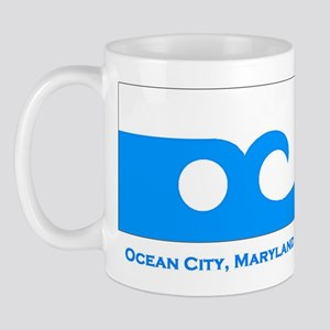 Ocean City MD Flag Mug