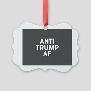 Anti Trump AF Ornament