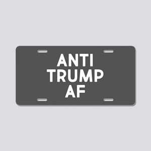 Anti Trump AF Aluminum License Plate