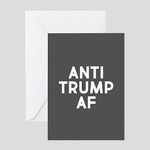Anti Trump AF Greeting Cards