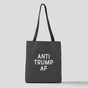 Anti Trump AF Polyester Tote Bag