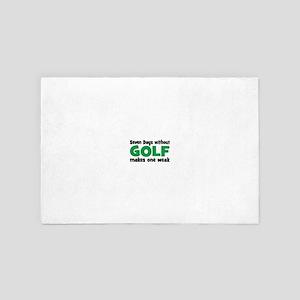 golf 4' x 6' Rug