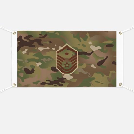 U.S. Air Force: E-7 1st Sergeant (Camo) Banner