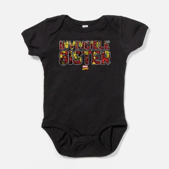 Iron Man Sister Baby Bodysuit
