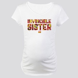 Iron Man Sister Maternity T-Shirt