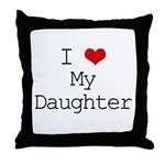 I Heart My Great Grandma Throw Pillow