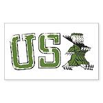 USA Military Parade Sticker