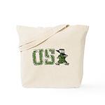 USA Military Parade Tote Bag