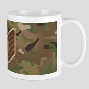 U.S. Air Force: E-6 TSgt (Camo) 11 oz Ceramic Mug