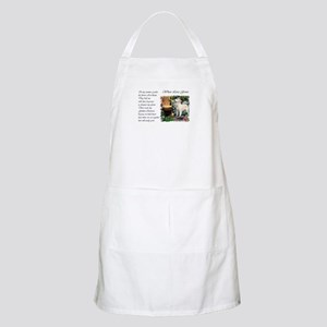 Golden Retriever Art BBQ Apron