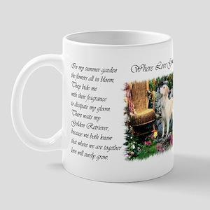 Golden Retriever Art Mug
