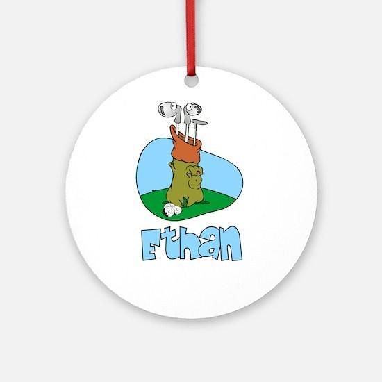 Ethan Ornament (Round)