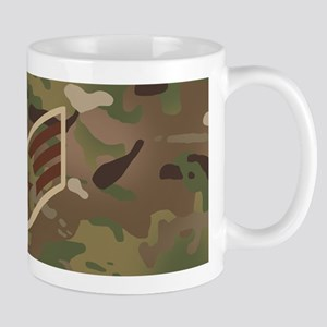 U.S. Air Force: E-4 SrA (Camo) 11 oz Ceramic Mug