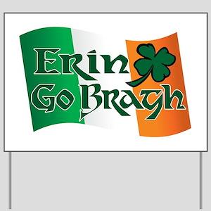 Erin Go Bragh v13 Yard Sign