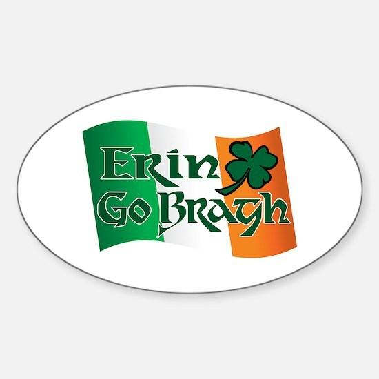 Erin Go Bragh v13 Oval Decal