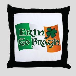 Erin Go Bragh v13 Throw Pillow