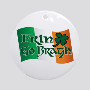 Erin Go Bragh v13 Ornament (Round)