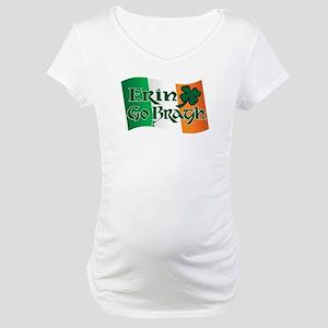 Erin Go Bragh v13 Maternity T-Shirt