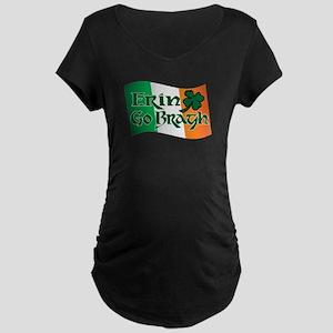Erin Go Bragh v13 Maternity Dark T-Shirt