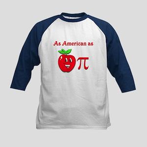As American as Apple Pi 2 Kids Baseball Jersey