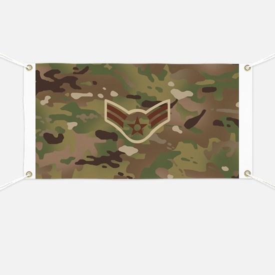 U.S. Air Force: E-3 A1C (Camo) Banner