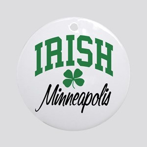 Minneapolis Ornament (Round)