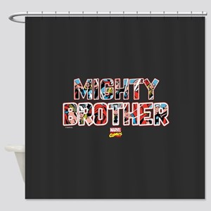 Thor Brother Shower Curtain