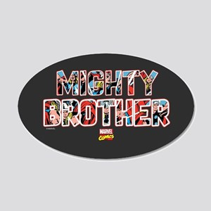 Thor Brother 20x12 Oval Wall Decal