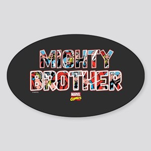 Thor Brother Sticker (Oval)