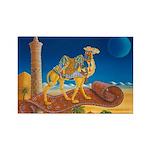 Bokhara camelRectangle Magnet