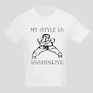 Isshinryu Karate Naihanchin Kids Light T-Shirt