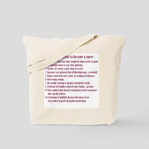 Reasons to Be a Nurse Tote Bag