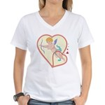 Cupid Love Women's V-Neck T-Shirt
