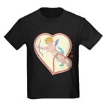 Cupid Love Kids Dark T-Shirt