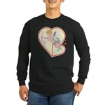 Cupid Love Long Sleeve Dark T-Shirt