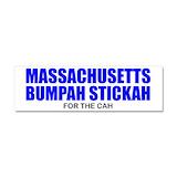 "Boston massachusetts 3"" x 10"""