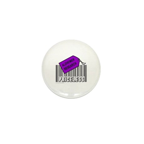 ALZHEIMER CAUSE Mini Button (100 pack)