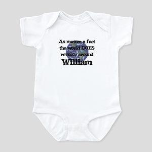 World Revolves Around William Infant Bodysuit