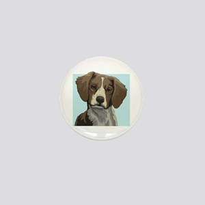 Brittany dog Mini Button