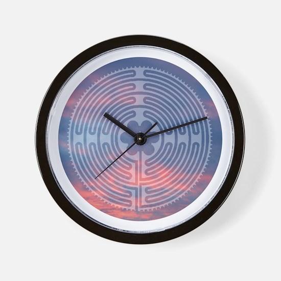 Sunrise Labyrinth Wall Clock