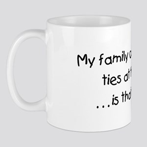 Genealogy Coat of Arms (black) Mug