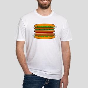 HAMBURGER Fitted T-Shirt