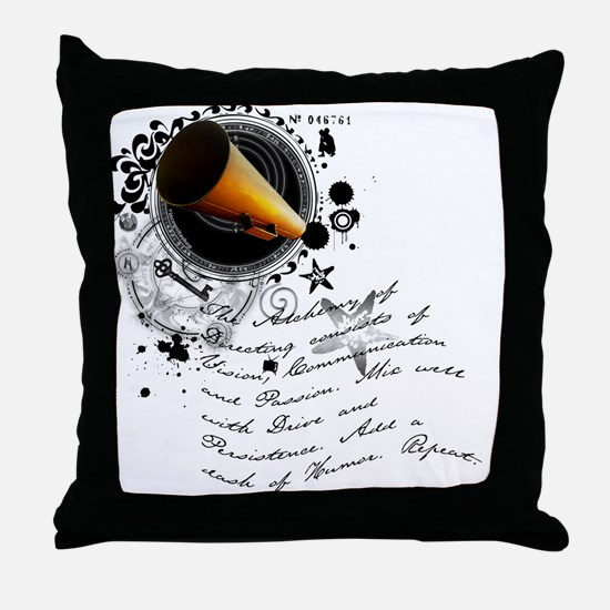 The Alchemy of Directing Throw Pillow