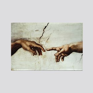 Creation of Man Rectangle Magnet